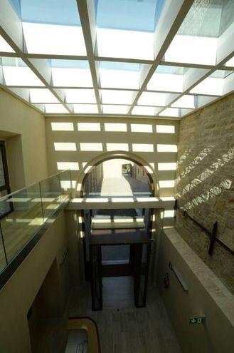 Gli interni di Rocca delle Caminate restaurata (Foto Frasca/Fantini)