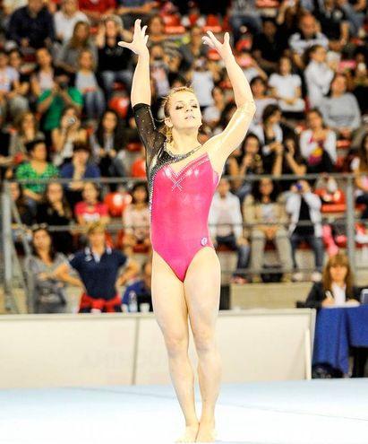 Lissone, Elisa Meneghini è una delle più forti ginnaste italiane