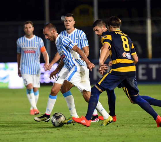Spal-Verona, la partita è finita 1-3 (foto Businesspress)