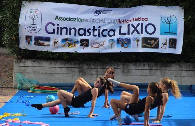 Lissone, esibizioni di ginnastica ritmica e artistica a Sport & Sport