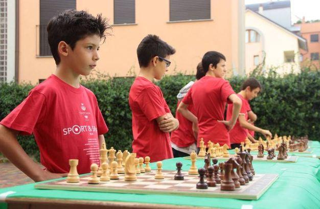 Lissone, si sono potute vedere anche simulazioni di partite di scacchi