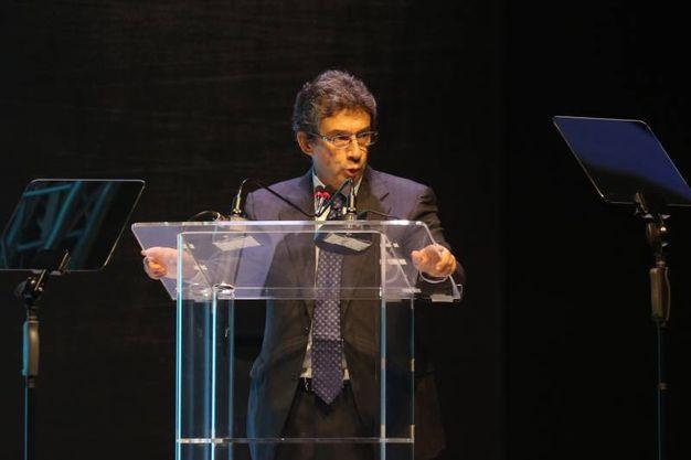 Il CEO di Philip Morris International Andrè Calantzopoulos (foto Schicchi)