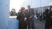 Inaugurazione del nuovo stabilimento Philip Morris (foto Schicchi)