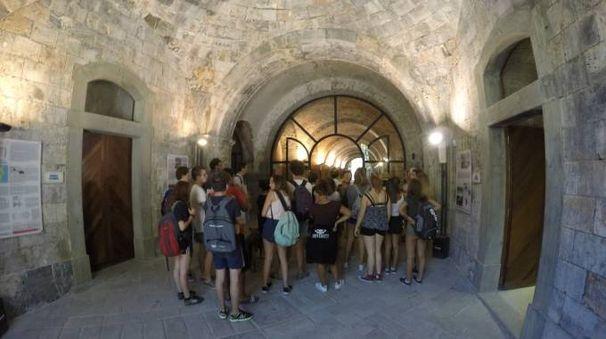 La Fortezza Umberto I sull'isola Palmaria