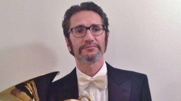 Il cornista Claude Padoan
