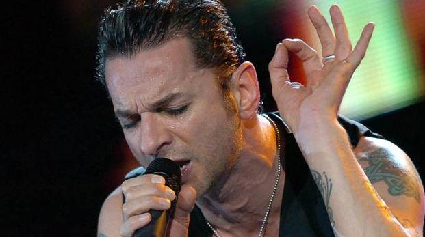 Dave Gahan, leader dei Depeche Mode, per la terza volta a San Siro