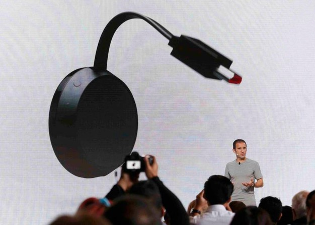 Google Chromecast Ultra per lo streaming (LaPresse)