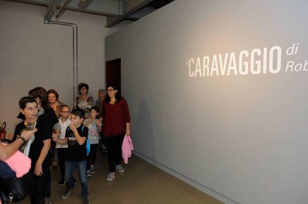Pinacoteca di Ancona, la tela 'Ragazzo morso da un ramarro' del Caravaggio (Foto Emma)