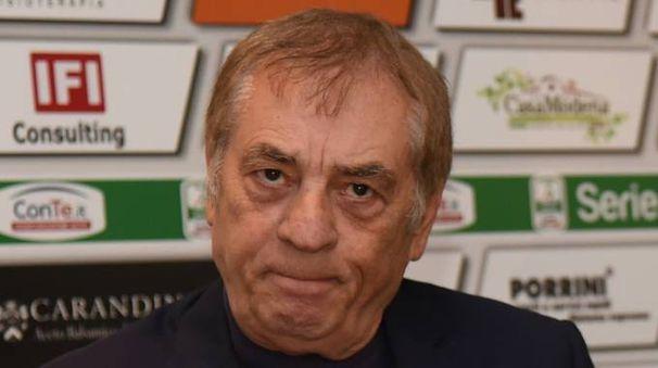 Il presidente del Modena Antonio Caliendo