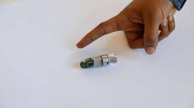 Il dito-bionico stampato in Maremma