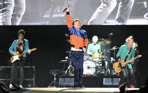Desert Trip, il concerto dei Rolling Stones (ansa)