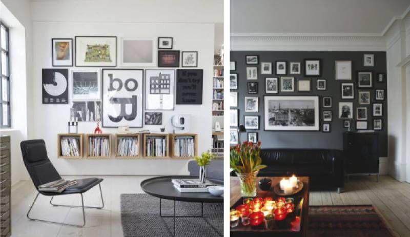 idee e consigli casa: come appendere i quadri alle pareti - magazine