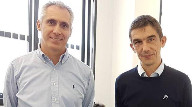 Davide Moro, presidente del cda e Nicolò Cavina, vicepresidente, due dei quattro fondatori