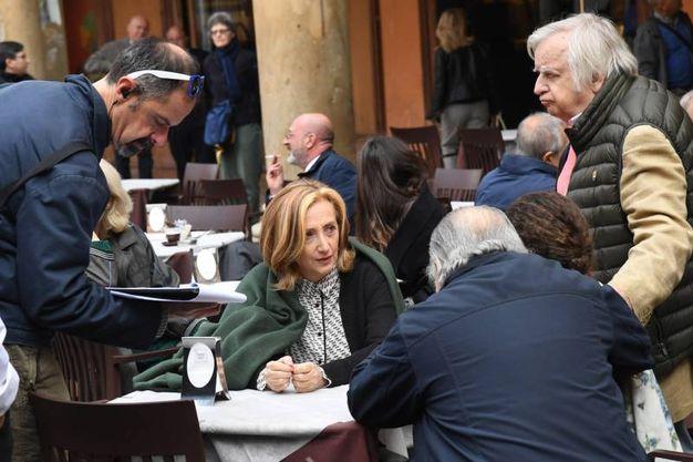 Bologna, in piazza Galvani per il nuovo film di Pupi Avati (Schicchi)