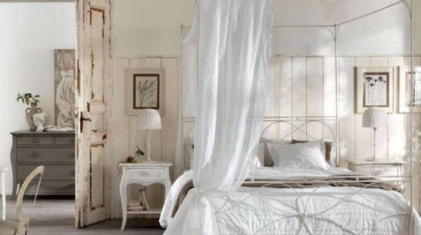 come arredare la camera da letto in stile shabby chic