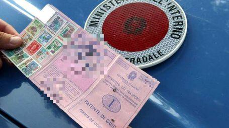 Patente di guida, immagine di repertorio