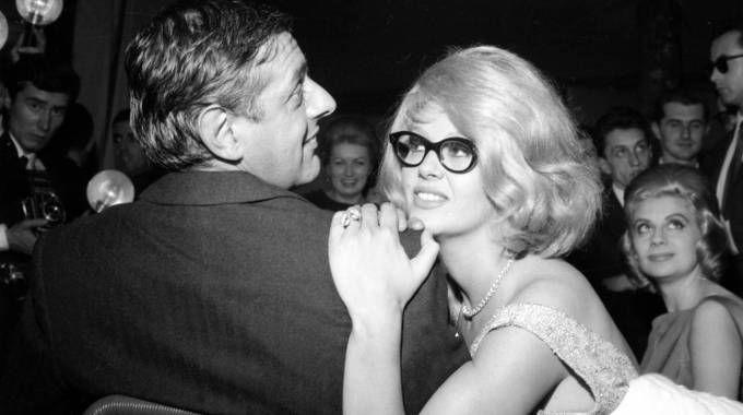 Dario Fo e Franca Rame nel 1959 (Olycom)