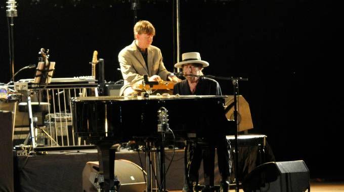 Bob Dylan in concerto a Lucca il 1° luglio 2015 (Alcide)