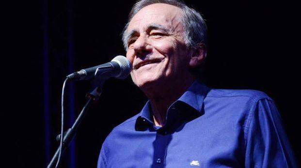 Roberto Vecchioni, in concerto a Fabriano il 30 ottobre 2016 (foto d'archivio Bettolini)