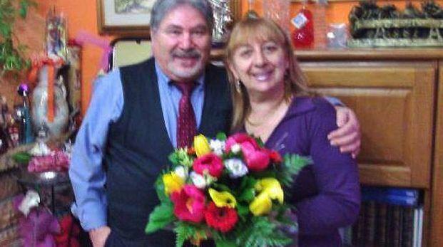 Antonio Tizzani con la moglie Gianna Del Gaudio (De Pascale)