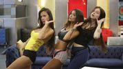 Antonella Mosetti, Mariana Rodriguez e Asia Nuccetelli (Lapresse)