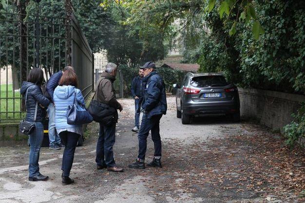 La villa dell'omicido di Giulia Ballestri (foto Zani)