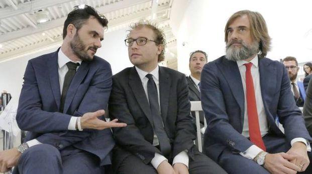 Lotti all'assemblea Confindustria Toscana nord (Foto Attalmi)