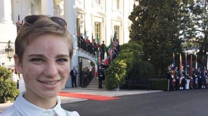 Bebe Vio alla Casa Bianca (da Instagram)
