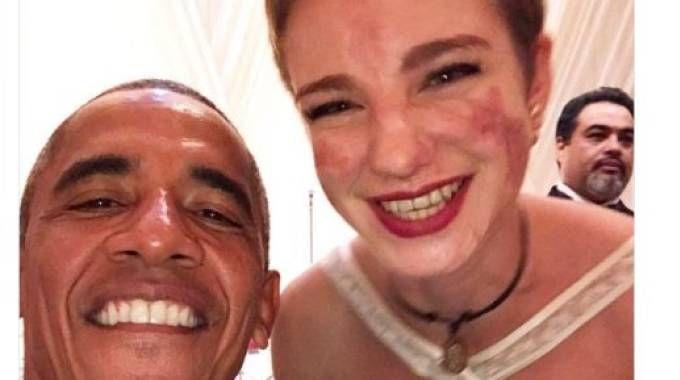 Bebe Vio e Barack Obama: il selfie su Twitter