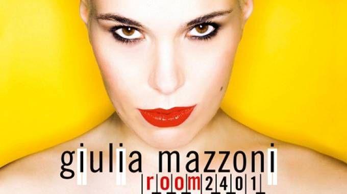 """Un particolare della copertina di """"Room 2401"""" di Giulia Mazzoni"""
