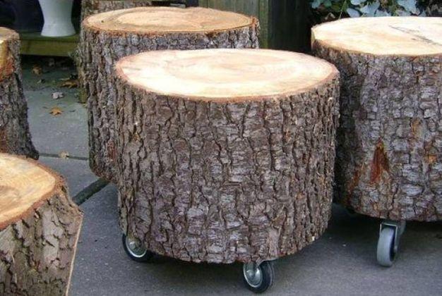 Ceppi e tronchi di legno per arredare casa magazine for Case di tronchi di blocchi di legno