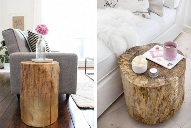 Ceppi e tronchi di legno per arredare casa magazine for Arredamento in legno