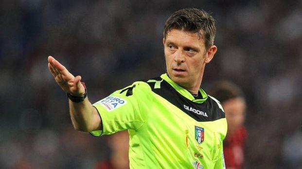 L'arbitro Gianluca Rocchi (LaPresse)