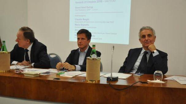 Da sinistra Matteoli, Martinelli e Quagliariello