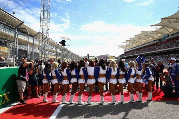 Le grid girls a Austin (afp)