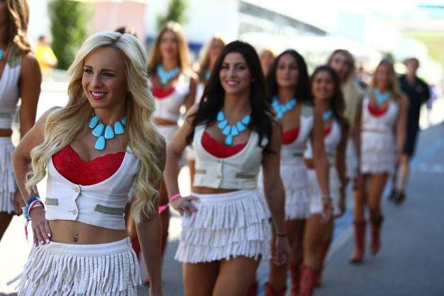 Le grid girls a Austin (lapresse)