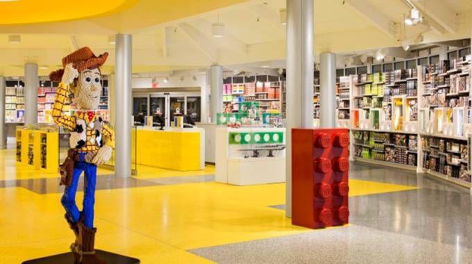 Il Lego Store di bandiera a Orlando (Usa)