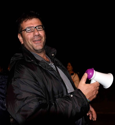 Gorino, la protesta contro i profughi in arrivo (Foto Businesspress)