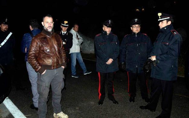 I militari sul luogo della protesta anti profughi a Gorino (Foto Businesspress)