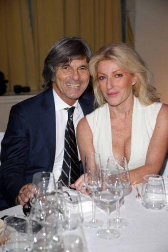 Roberto Alessi e la moglie
