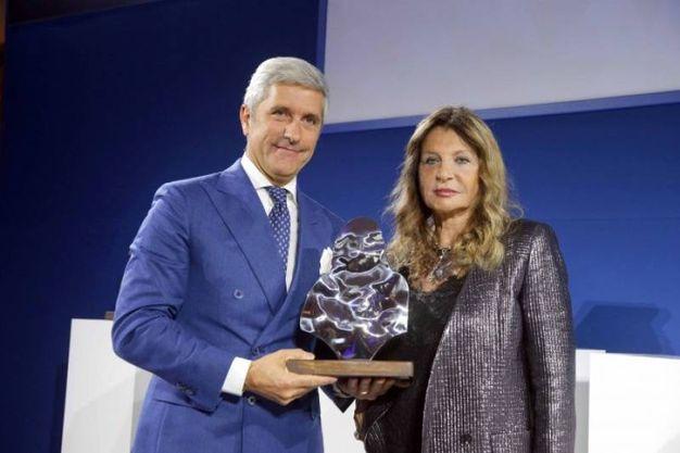 Luigi Cuzzolin e Maria Lusia Trussardi