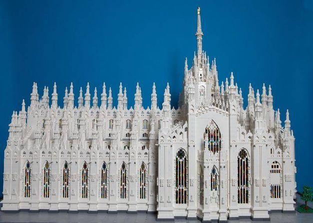 1 - Il Duomo di Milano in versione Lego