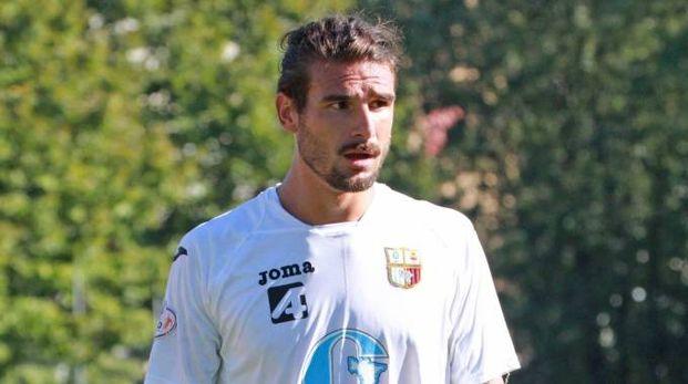 Alessandro Romano, 27 anni, attaccante dell'OltrepoVoghera