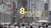 10 - Visitatori: 8 milioni all'anno