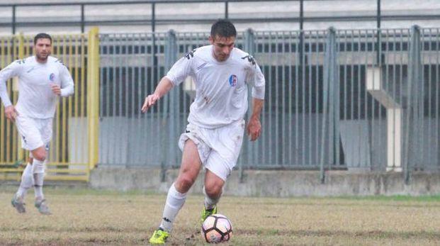 L'attaccante pavese Roberto Chiaria, 33 anni