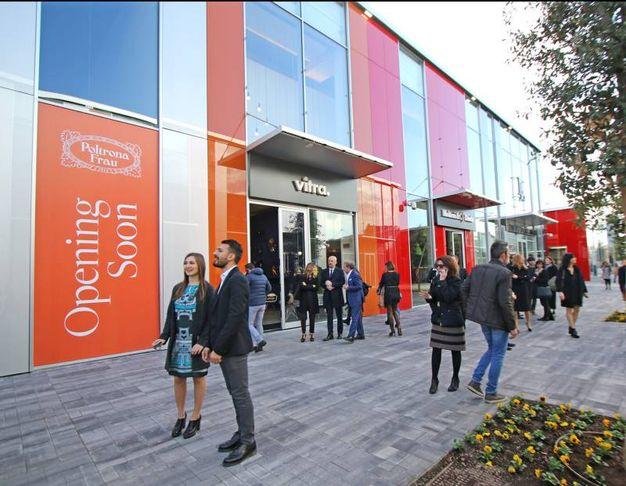 Gli spazi ergonomici aiutano a una comoda fruizione del centro commerciale altresì detto City Style
