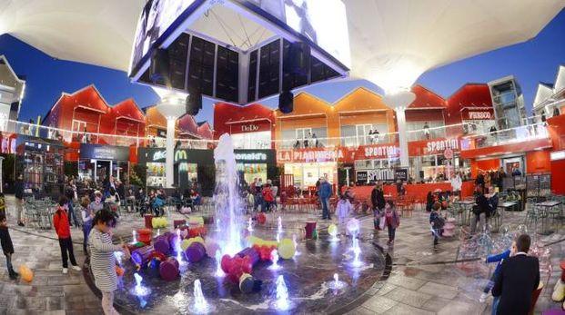Una piazza all'interno di Scalo Milano