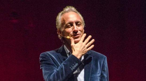 Marco Travaglio all'Alfieri (foto Borghesi)