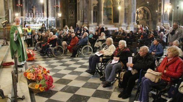 La festa di S. Abramo in Ss. Annunziata (foto Umberto Visintini/New Pressphoto)