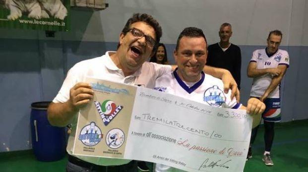 Paolo Gamba col papà di Yara